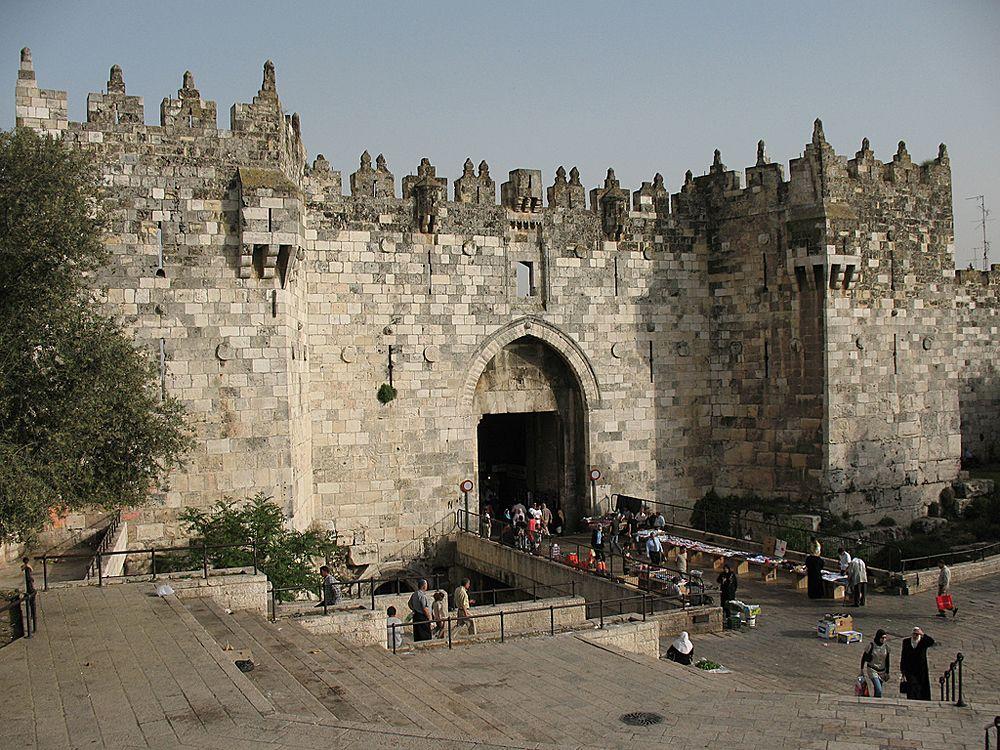 поставила ворота в иерусалиме фото лучше всего воплощают