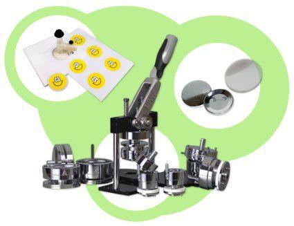 Starterset Buttonmaschine Vario für 25mm US mit Kreisschneider
