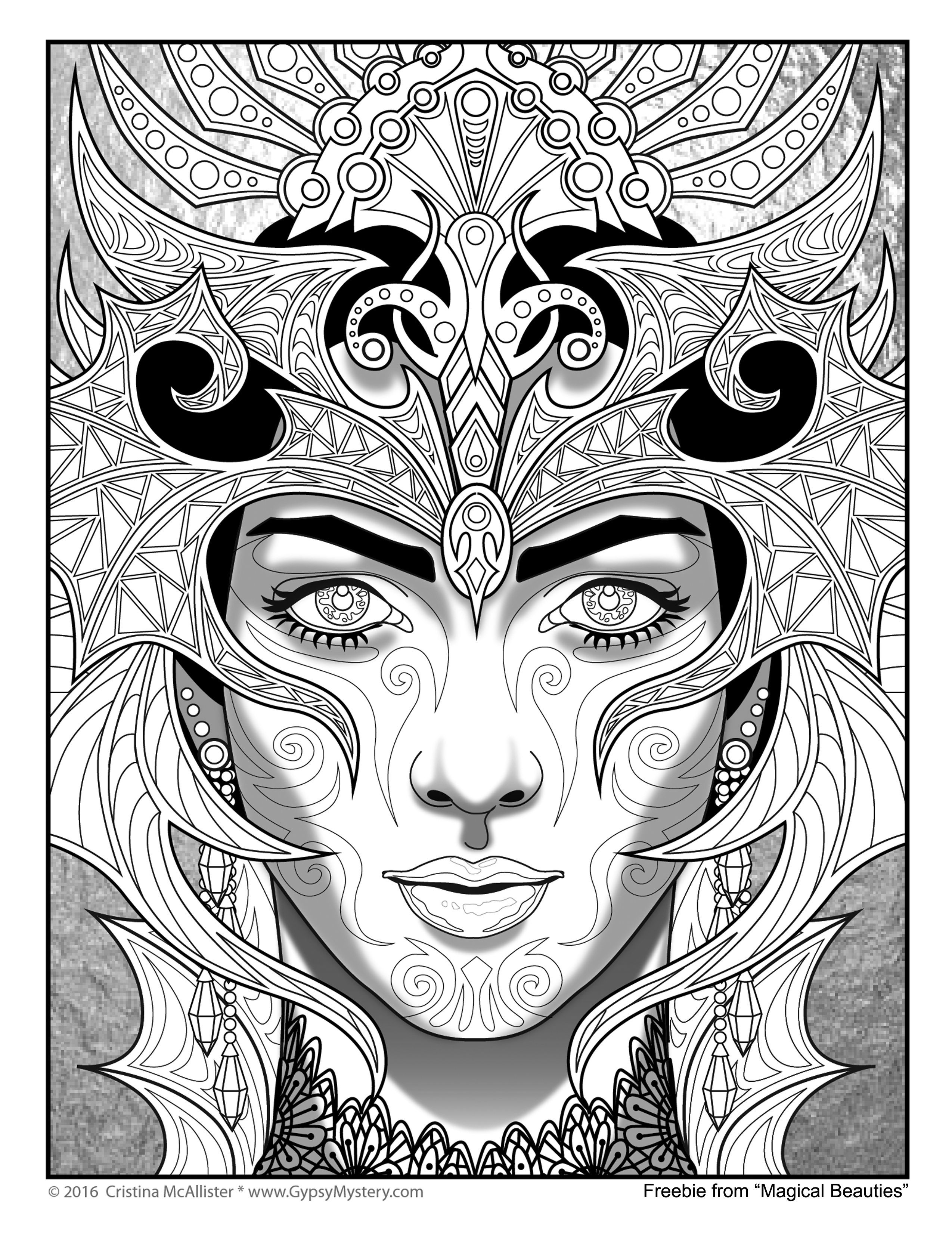 Pin de Emerald en COLORING BOOK | Pinterest | Mandalas, Colorear y ...