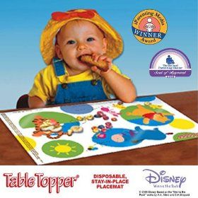 Mom Must Have Disposable Placemats For Babies Toddlers Placemats Toddler Baby Toddler