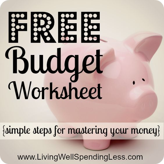 Re-Assess Your Budget {Day 29 Worksheets, Free printable and Budgeting - How To Make A Household Budget Spreadsheet
