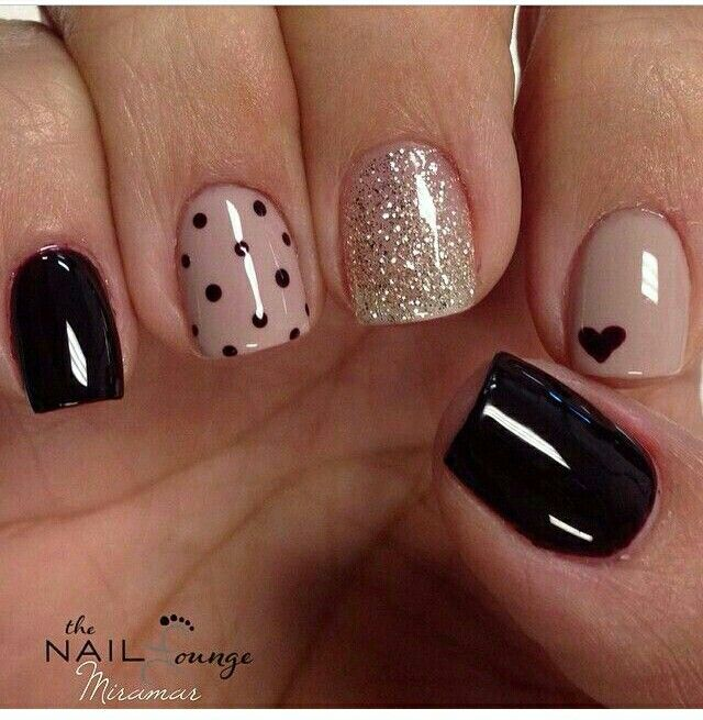 Pin by leslie vallejos on uas pinterest manicure makeup and pedi 15 nail design ideas that are actually easy nail design nail art nail salon irvine newport beach prinsesfo Images