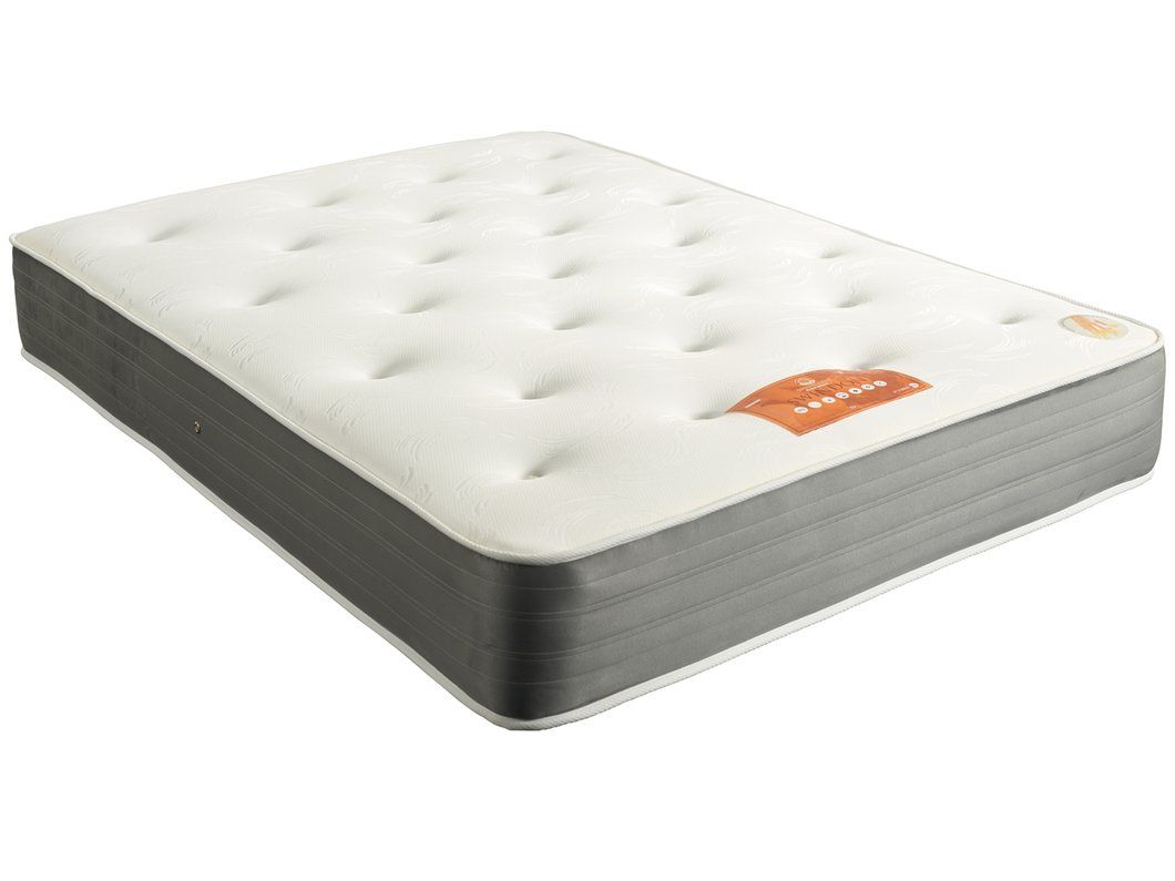 Single Pocket Sprung Memory Foam Mattress Sprung Land Swindon 1000 Pocket Sprung Memory Foam Mattress