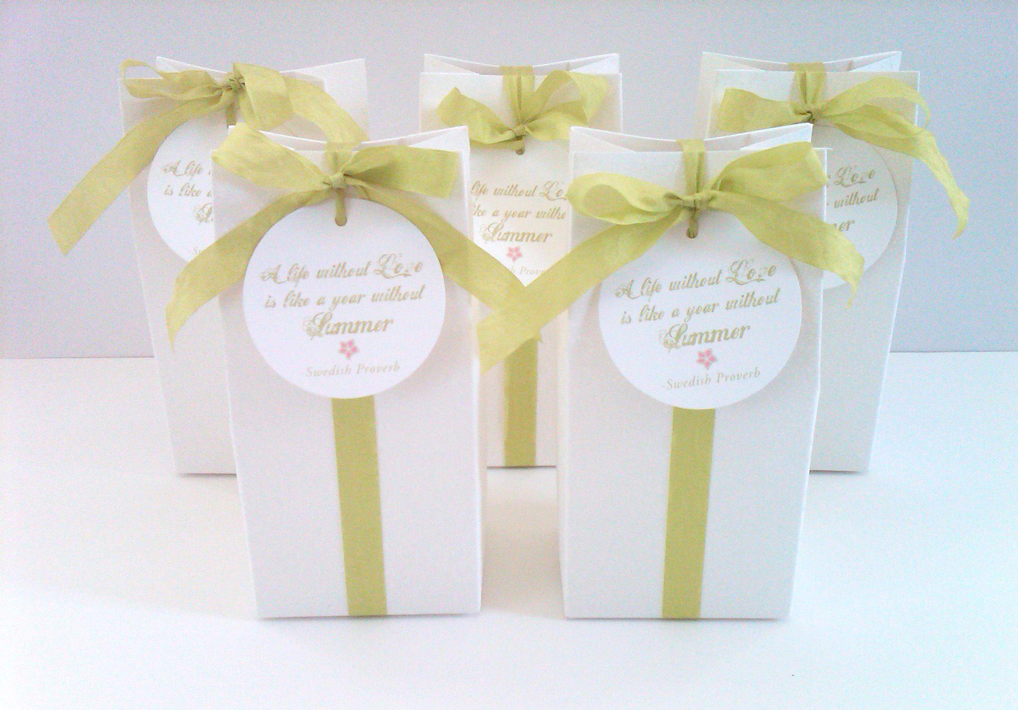Handmade boxes for summer