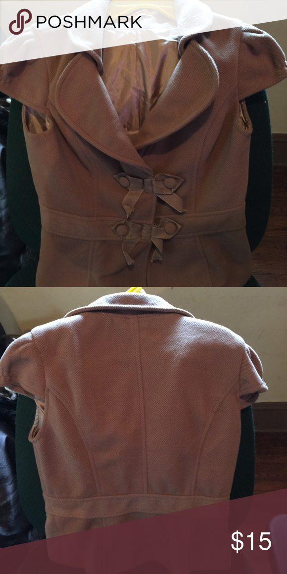 Blazer/jacket Tan blazer/jacket! Very soft material! Bought for my daughter and she never wore it! Jackets & Coats Blazers