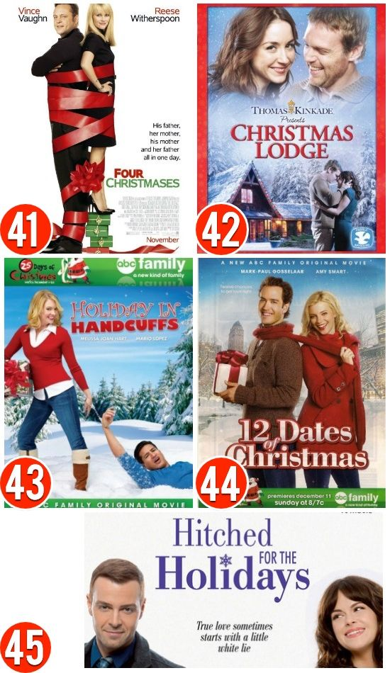 christmas movies for the romantic - The Best Christmas Movies