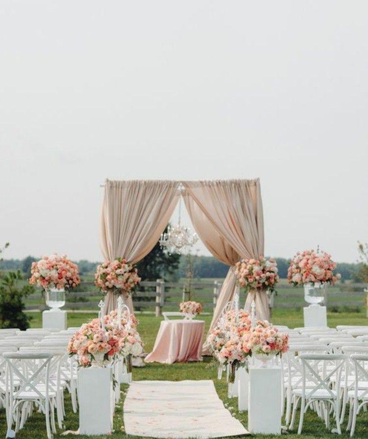 DIY wedding ideas   Wedding ceremony decorations outdoor ...