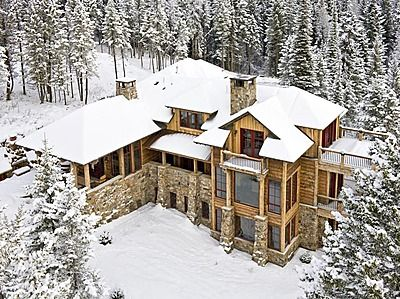 Beautiful Home 4 Bedrooms 4 Bathrooms 5 700 Sq Ft Rustic Houses Exterior Log Homes Rustic House
