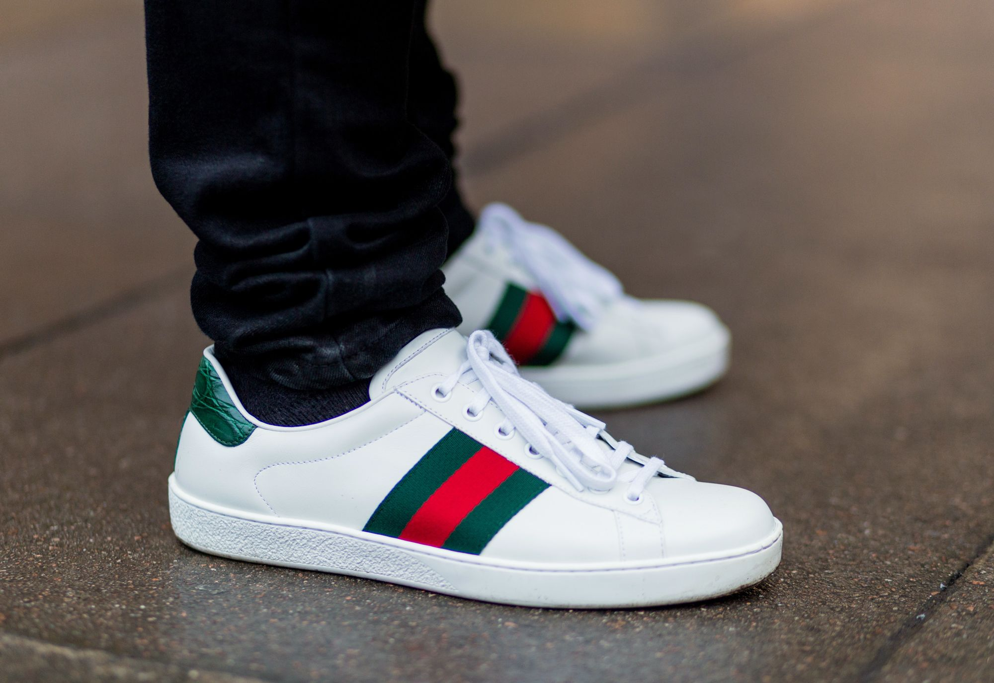 c3de2c6c8bb Gucci s Most Affordable Sneakers Can Now Be Personalized With Your Initials