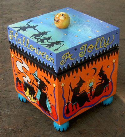 Jolly Halloween Box by Grim Prim's Deborah Sweigart