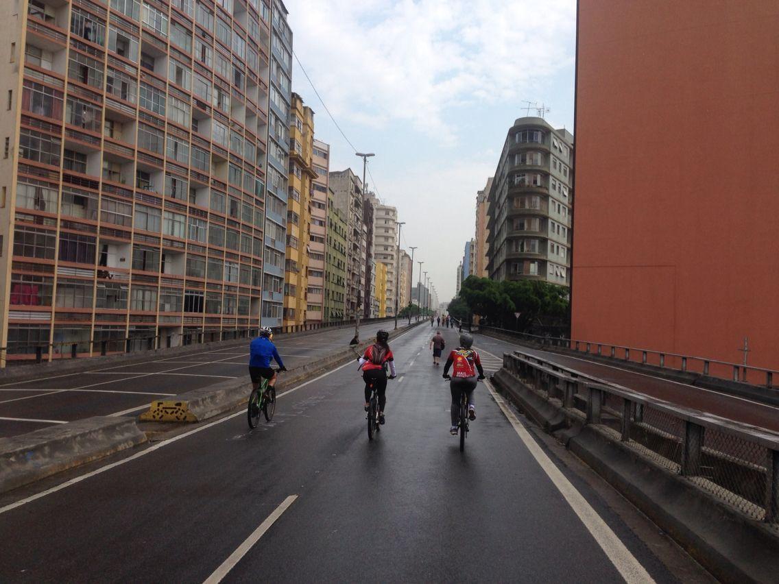 Pedal urbano em Sampa!