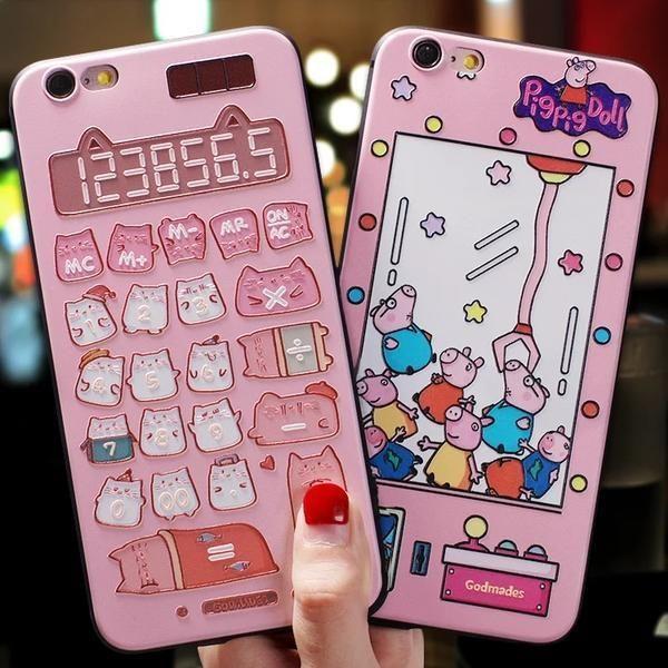 Kawaii Pusheen the Cat Calculator Iphone Case in 2019 | phone