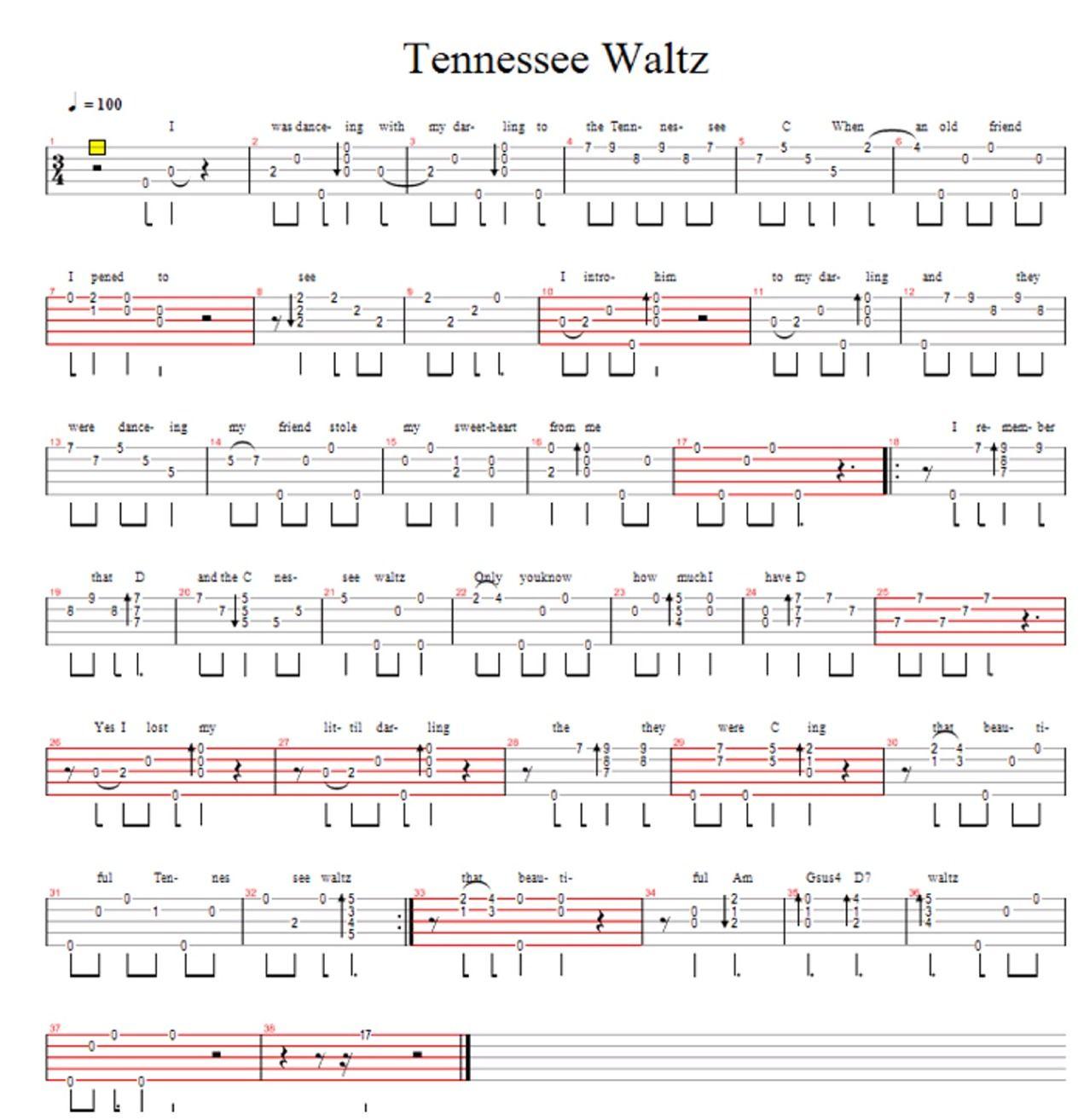 Tennessee Waltz Steps Diagram Best Electrical Circuit Wiring Banjo Tabulatury Tablature Tab Tabs Rh Pinterest Com For Women Dance Beginners