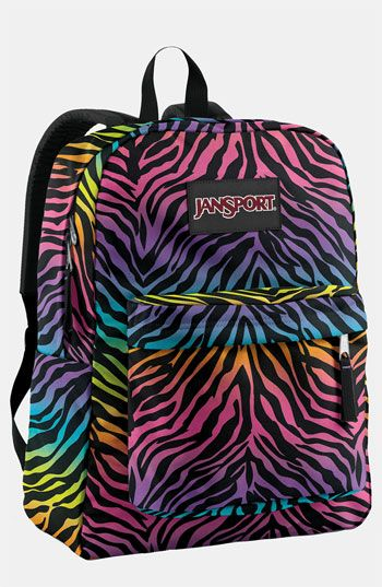 Jansport backpack multi-colored zebra Nordstrom.com | I Don't Have ...