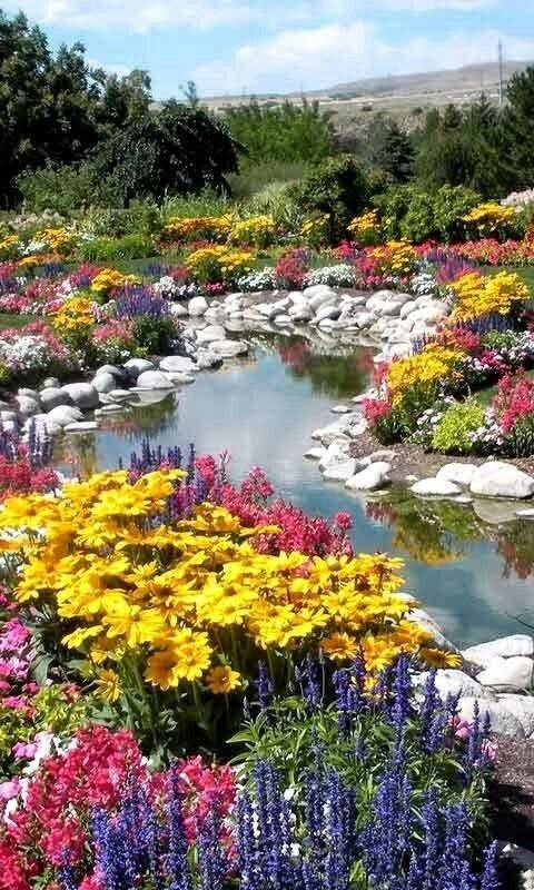 Beautiful Flowers, Flowers Gardens And Landscapes