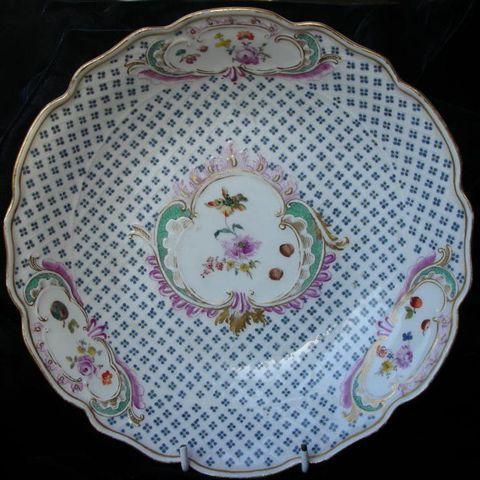 Vintage plates · 19th Century Meissen dish. & 19th Century Meissen dish. | Meissen china | Pinterest | Porcelain ...