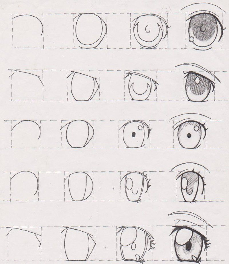 Pin By Kory Streitman On Art Stuff Eye Drawing Tutorials Eye Drawing Anime Drawings Tutorials