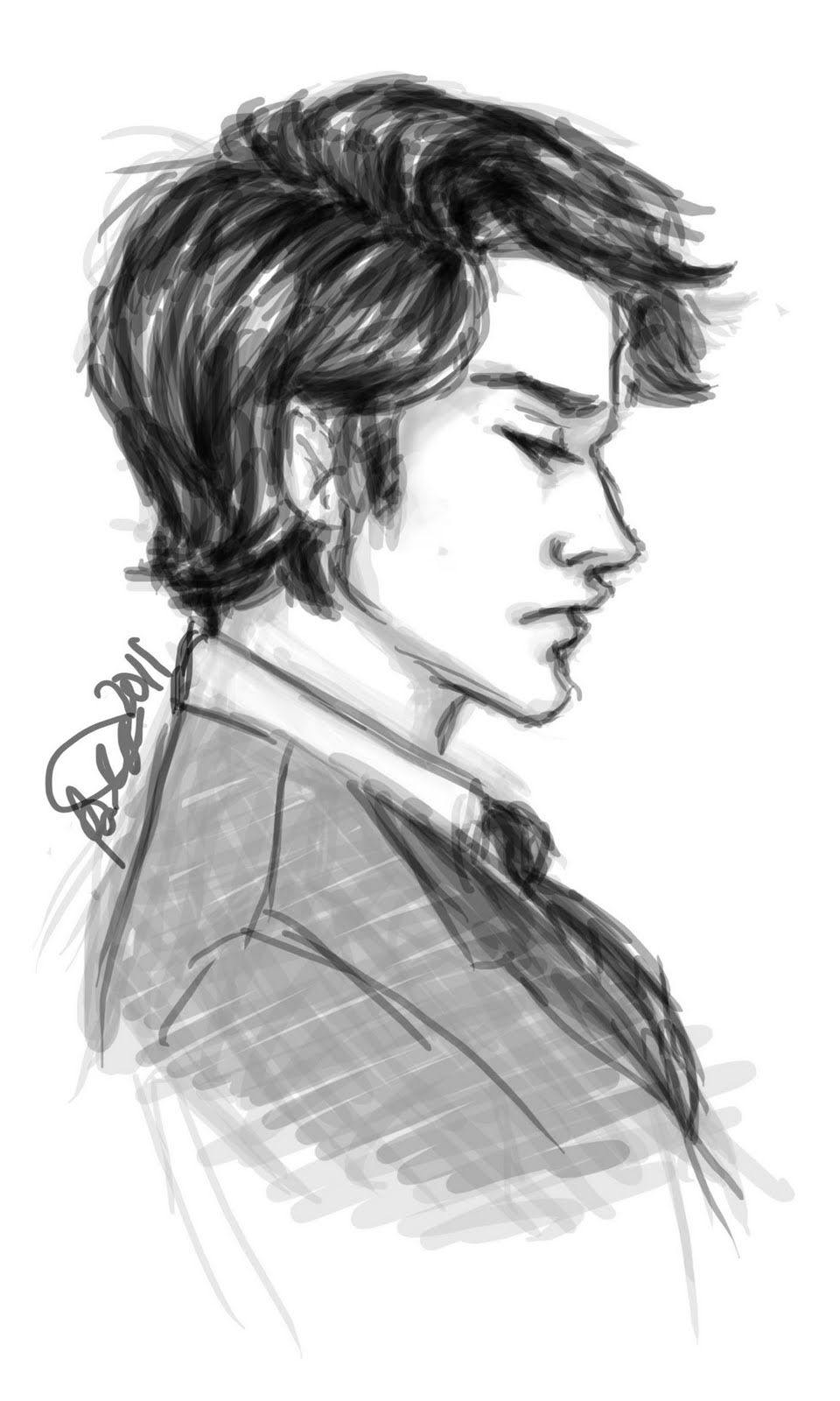 Will Herondale.  Exactly as I had imagined him. :3