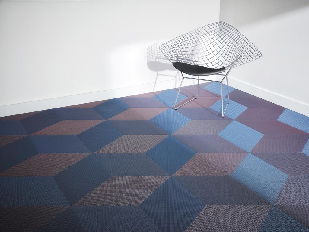 Be different dickson woven flooring diamond tiles for a cueb effect