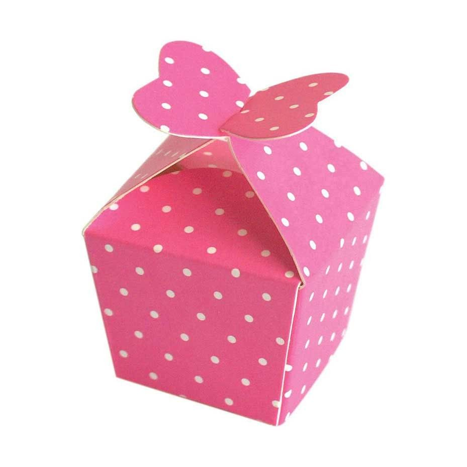 cute! butterfly pink box