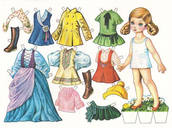Paper Dolls Editorial Nervión Bilbao Muñecas Recortables Vestidos De Muñecas Muñecas De Papel Antiguas