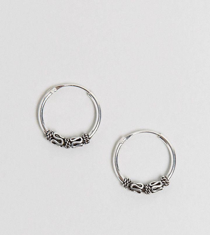 Kingsley Ryan Sterling Silver 14MM Wire Wrap Hoop Earrings ...