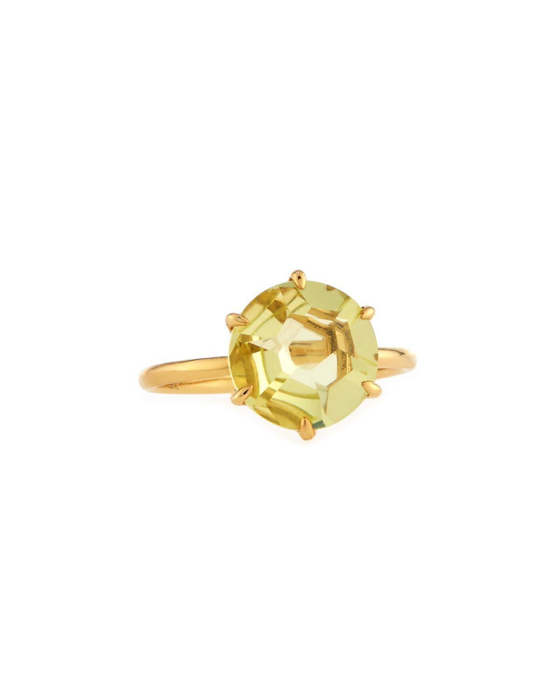 Ippolita Woman 18-karat Gold Crystal Ring Green Size 7 Ippolita bfl1uQZe