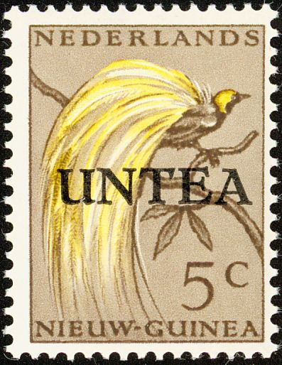 Lesser Bird-of-paradise stamps - mainly images - gallery format