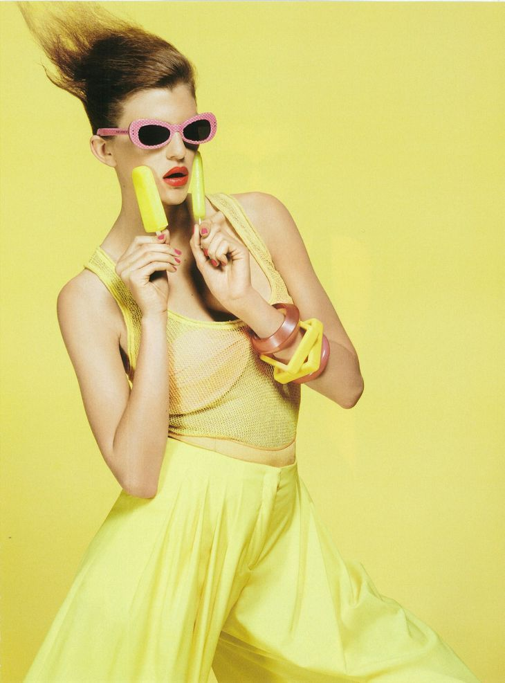 leahcultice: Caterina Ravaglia for Flair Italy by Emilio Tini