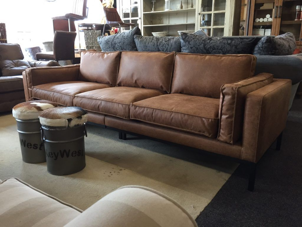 Leren Bank Aanbieding.Silvana Eco Leder Huiskamer Sofa Furniture Decor En Home Decor
