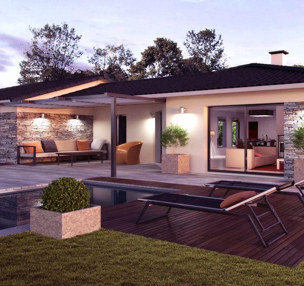 Modèle de maison Panama -  Retrouvez tous les types de maison à - Budget Pour Construire Une Maison