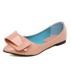 Designer flats solid color comfortable fashion dress shoes XD-HJY111-36-Lovelyshoes.net