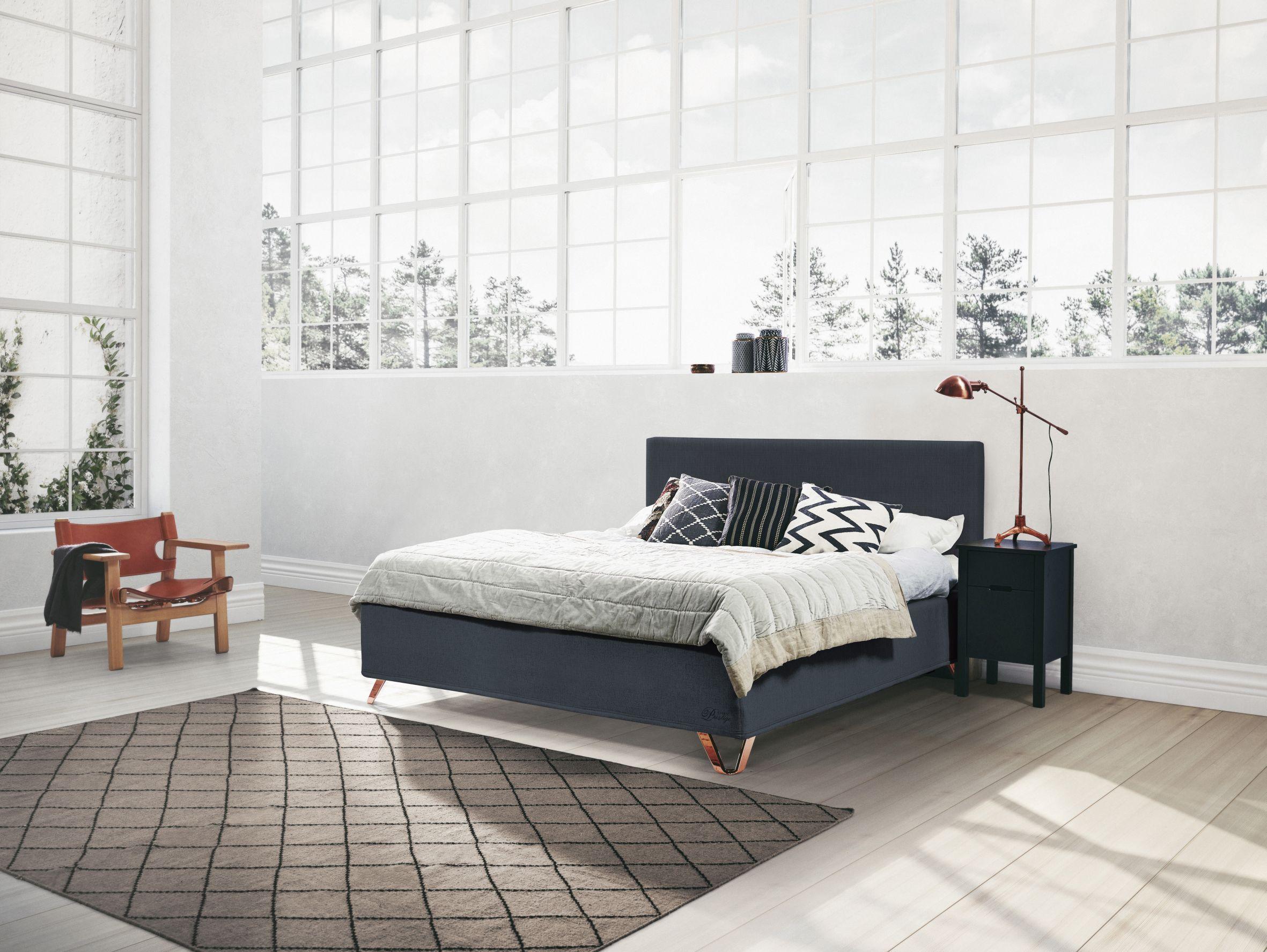 Jensen Prestige Nordic Seamless Blue Beds Seng Hus Instagram