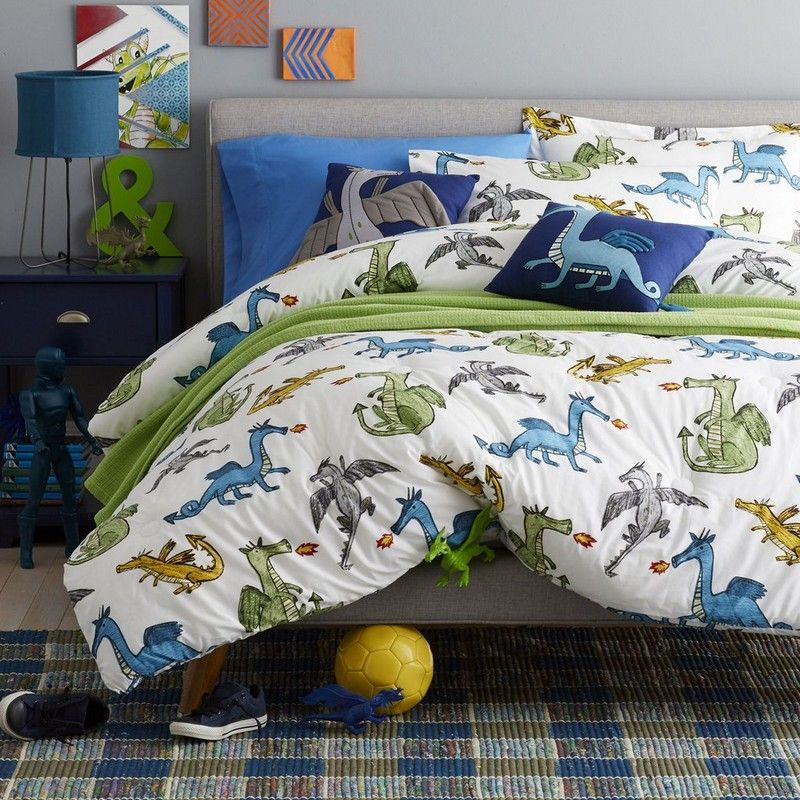 Dragon Fire Bedding Friendly And Fire Breathing Dragons Oh My