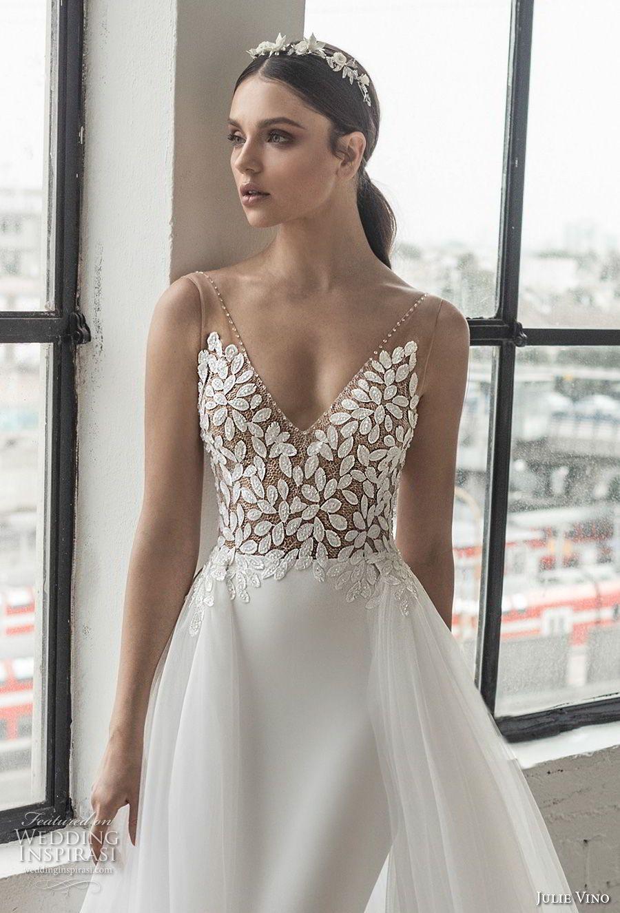 Night before wedding decorations january 2019 Romanzo by Julie Vino  Wedding Dresses  Bridal Fashion