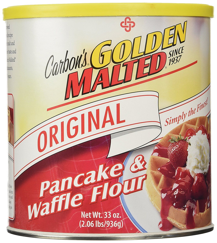 Golden malted waffle and pancake flour original 33ounce