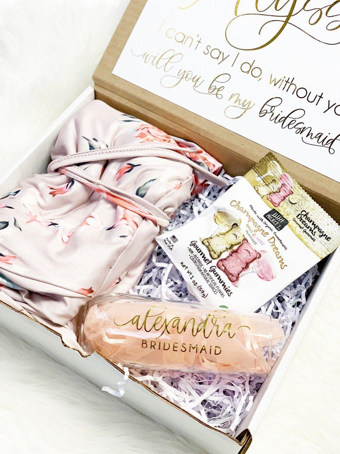 Bridesmaid proposal gift bridesmaid gift box bridesmaid
