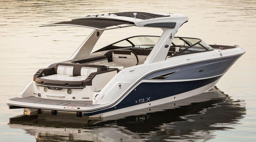 Sea Ray Slx Series New Boat Models Cruiser Boat Boat Deck Boat