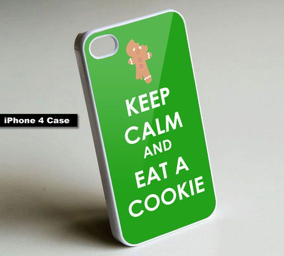 Keep Calm and Eat a Cookie - iPhone