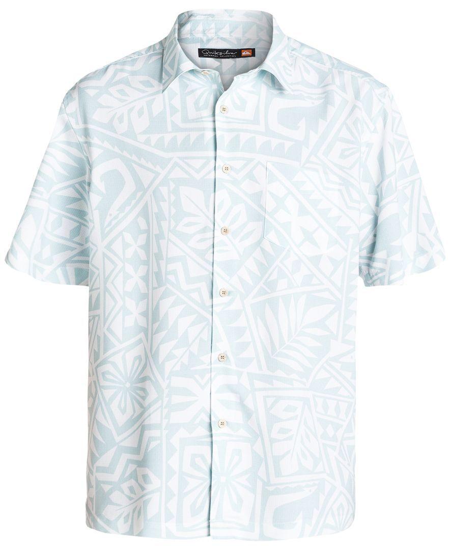 rendimiento confiable artesanía exquisita selección asombrosa Quiksilver Waterman North End Printed Shirt | Waterman ...
