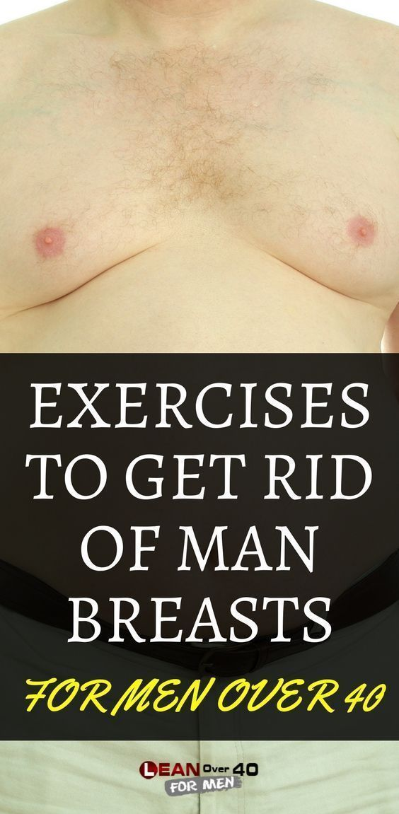 How To Get Rid Of Man Breasts With Exercise  Drinking Water Helps -5594