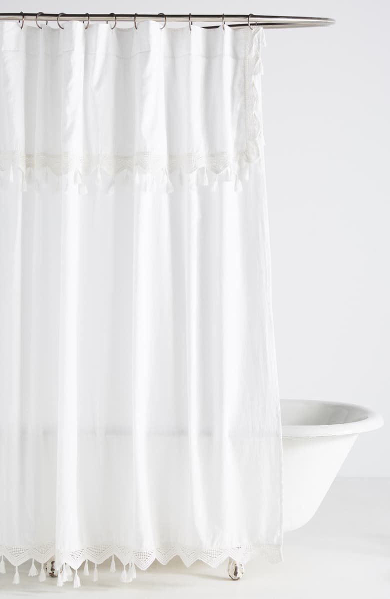 Add An Extra Elegant Touch To Your Bathroom With This Crisp White