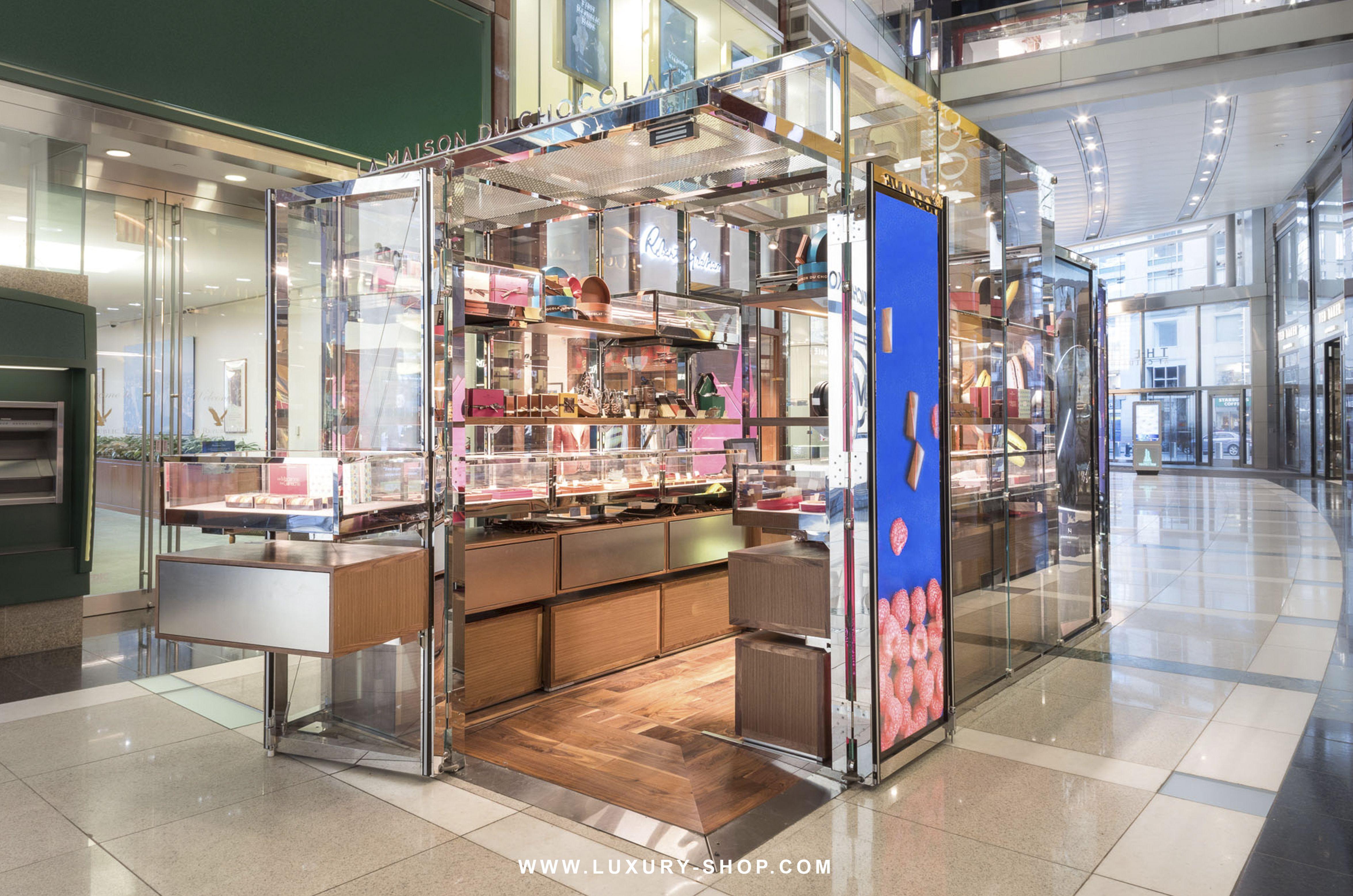 La Maison Du Chocolat Luxury PopUp Shop at Time Warner
