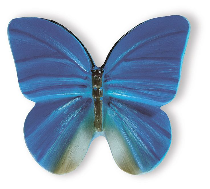 Blue Butterfly Door Knob | Favorite color | Pinterest | Door knobs ...