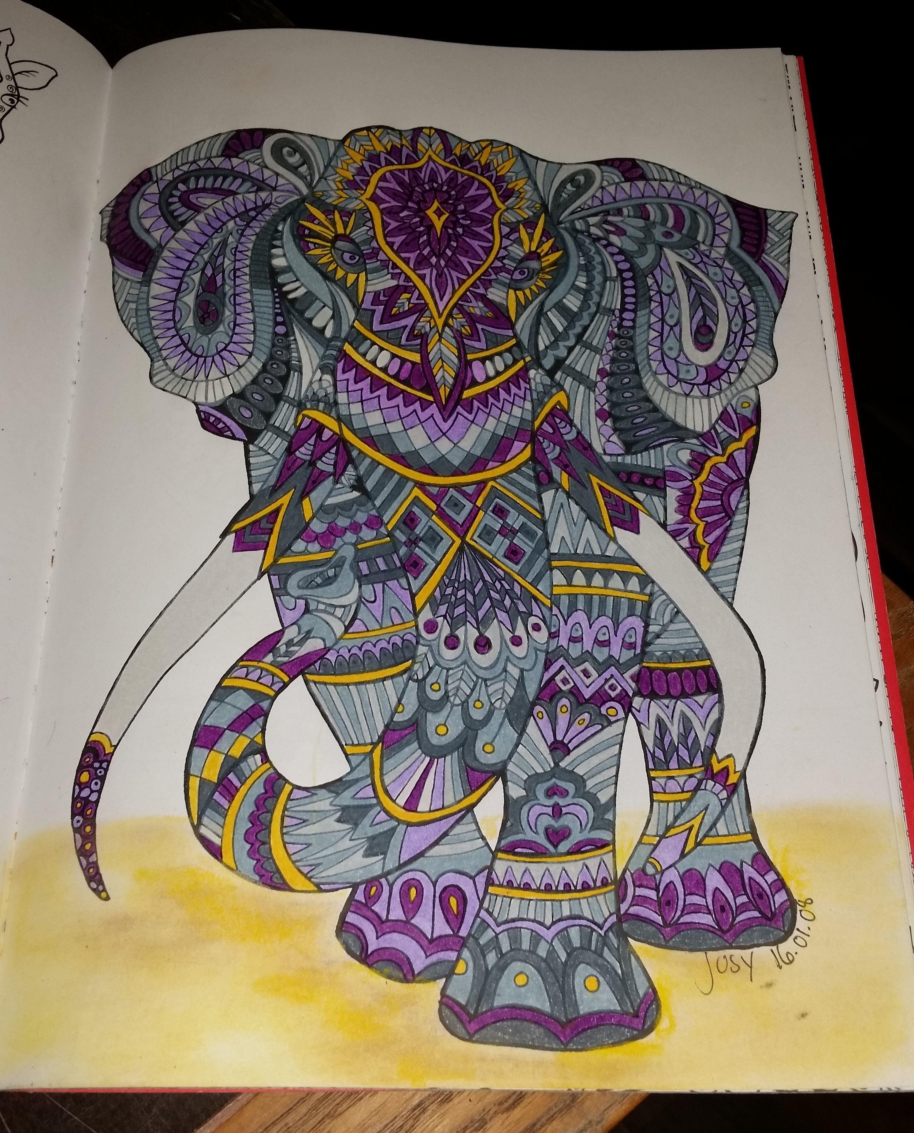 du livre bestiaire extraordianire 100 coloriages anti stress de hachette art thrapie - Coloriage Anti Stress Hachette