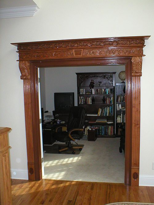 Entry Door Trim Interior Interior Door Casingspediments And