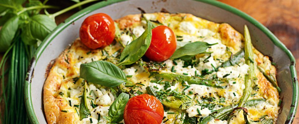 Green vegie goats cheese and herb frittata healthy food guide green vegie goats cheese and herb frittata healthy food guide magazine forumfinder Images