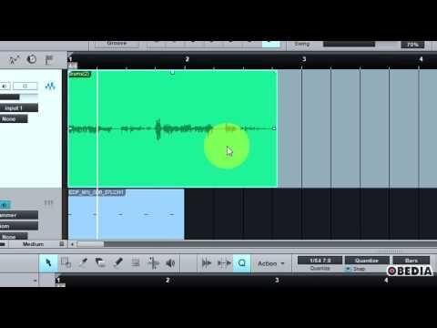 PRESONUS STUDIO ONE - How to use Quantize (Audio and MIDI