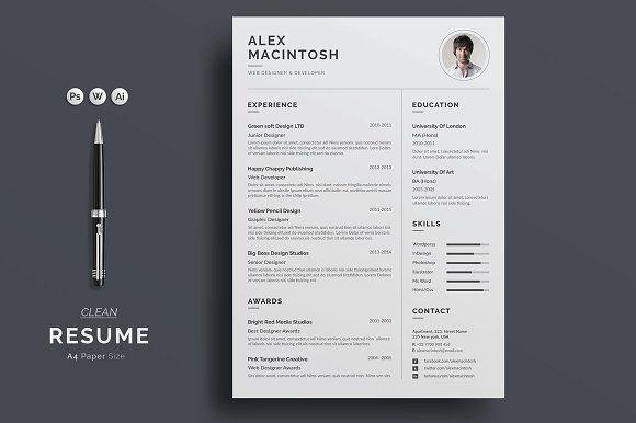 Resume/CV Resume cv, Template and Cv template
