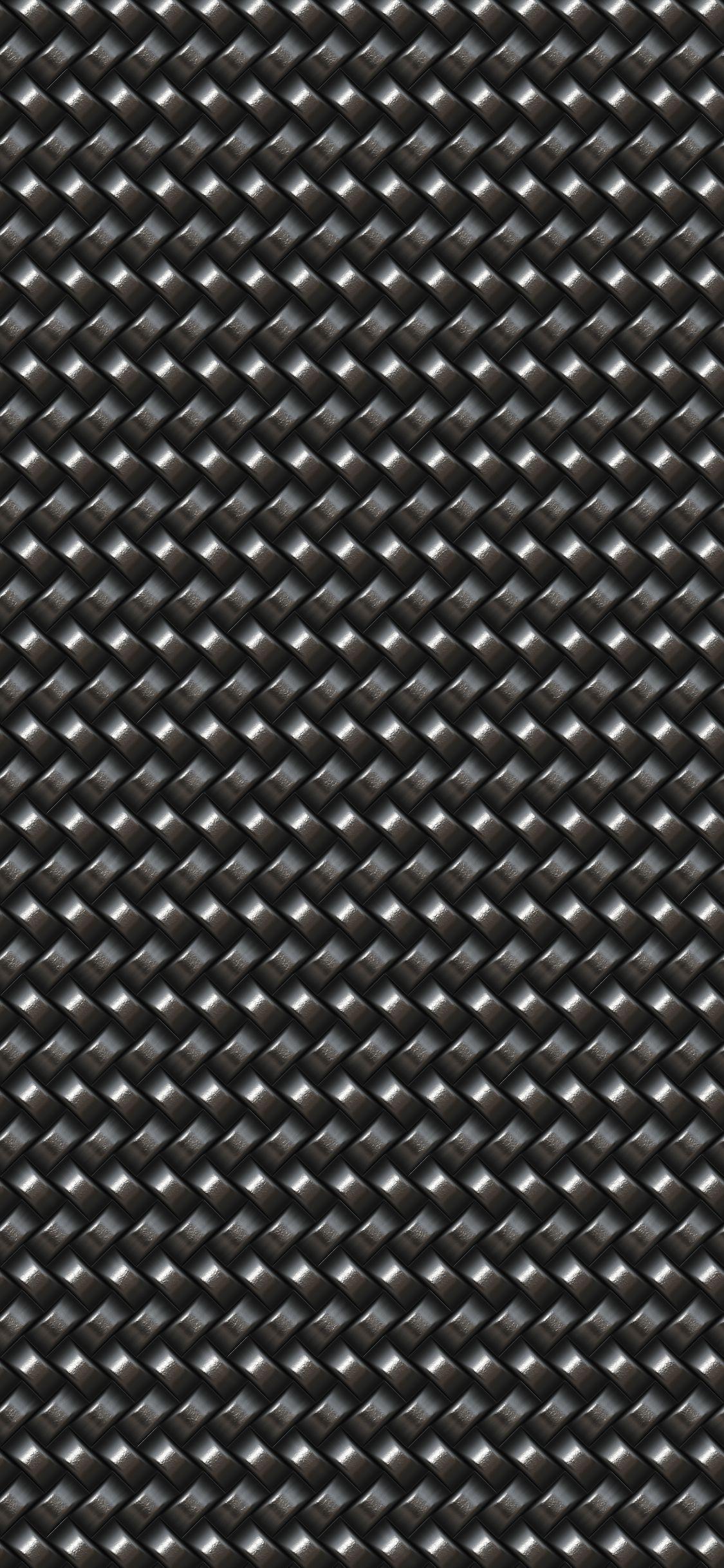 Dark Metal Mesh Iphone X Wallpaper Created By Angelo